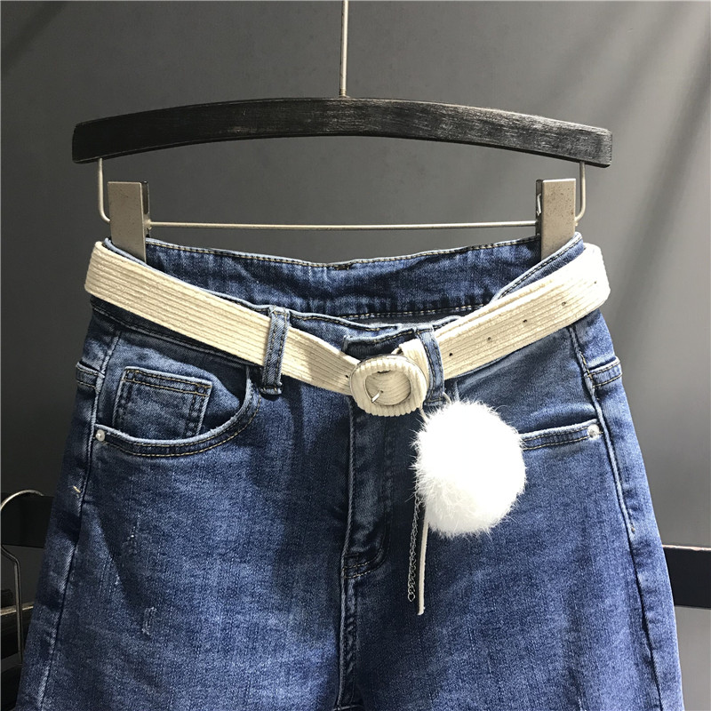 Azul Para Harem Elástico Denim Mujer Calidad De Cintura Dama Boyfriend Vestido Casual Colocar Jeans Mujeres Pantalones Alta K442 8q5Hwf1TP