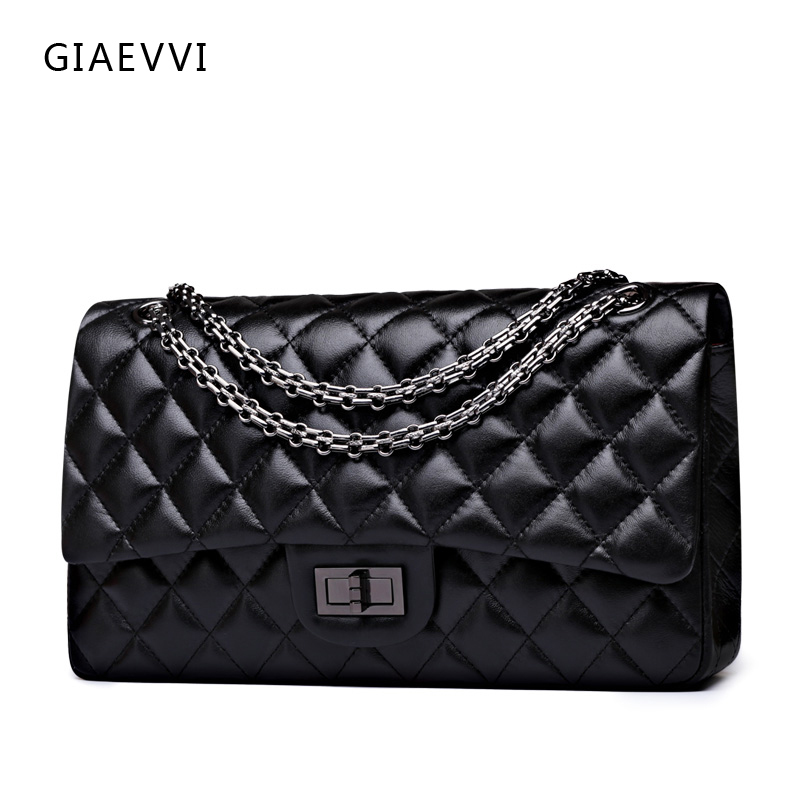 GIAEVVI women messenger bags 2017 brand genuine leather tote shoulder bag luxury handbag women crossbody bags designer handbags giaevvi luxury handbags split leather tote women messenger bags 2017 brand design chain women shoulder bag crossbody for girls
