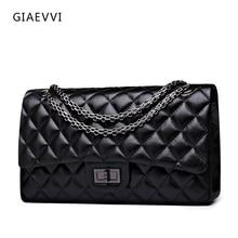 GIAEVVI frauen messenger bags 2017 marke echtes leder-schulter-beutel luxus handtasche frauen umhängetaschen designer-handtaschen