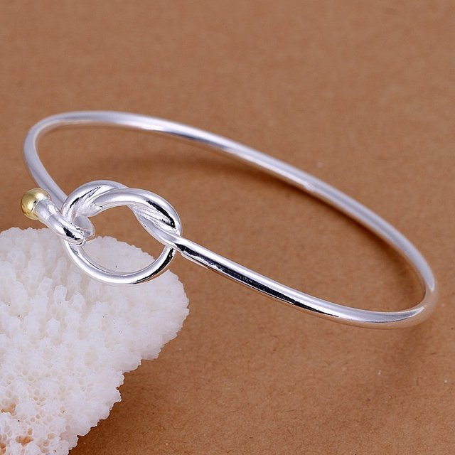 Promotion.Free Shipping 925 Sterling Silver Jewelry.Wholesale Beautiful Fashion Bracelet B093