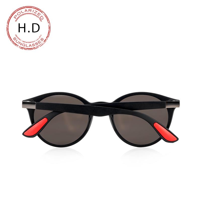 Brand Design Classic Sunglasses Men Women Retro Rivet Polarized Sun glasses Legs Lighter Design Oval Frame UV400 Protection in Men 39 s Sunglasses from Apparel Accessories