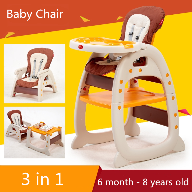 Plastic Tables For Children LunchInfant Baby Safety Portable High ChairBaby Booster Seat