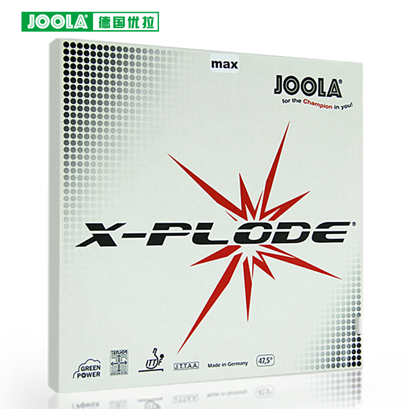 Original JOOLA X PLODE SENSITIVE table tennis rubber pimples in fast attack with loop table tennis