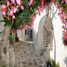 Mediterranean Style Street Town City