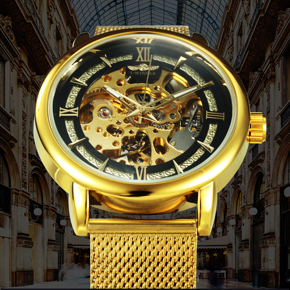 HTB1G3UKdlCw3KVjSZR0q6zcUpXao WINNER Official Fashion Casual Men Mechanical Watch Blue Mesh Strap Ultra Thin Skeleton Mens Watches Top Brand Luxury Clock 2019