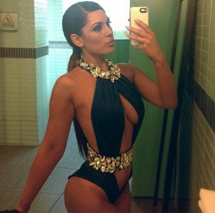 ФОТО Bikini 2017 Push Up Bikinis Women 2017 Beachwear Swimming Suit For Women Bathing Suits Swimsuits Black Rose Diamond Essex Ibiza
