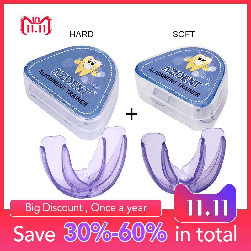 Orthodontic Braces Dental Braces Instanted Silicone Smile Teeth Alignment Trainer Teeth Retainer Mouth Guard Braces Tooth Tray teeth orthodontic model ceramic braces wrong jaw demonstration model orthodontics practice model