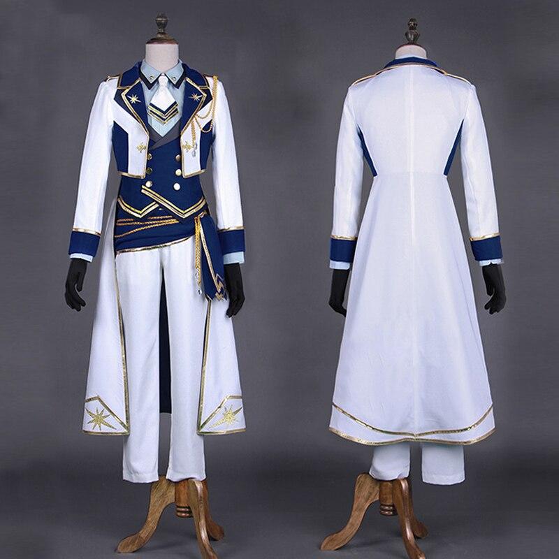 Ансамбль звезды Рыцари Сияющие Suou Tsukasa Косплей костюмы знаменитые Рыцари звездный свет фестиваль Хэллоуин вечерние униформа - 2