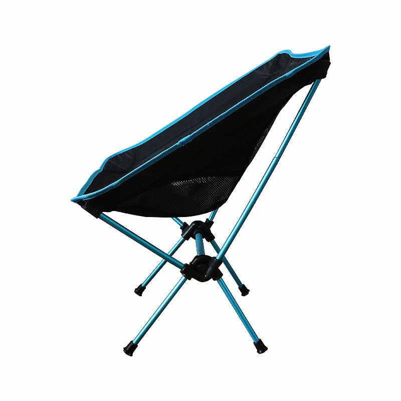 Открытый рыбалка стул складной Кемпинг стул с 600D Ткань Оксфорд Алюминий сплав сопротивление воды для пикника пляж путешествия