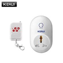 Kerui Smart Plug розетка 220 В ЕС AU Великобритания США Марка электрической розетки к умный дом Пульт дистанционного Управления