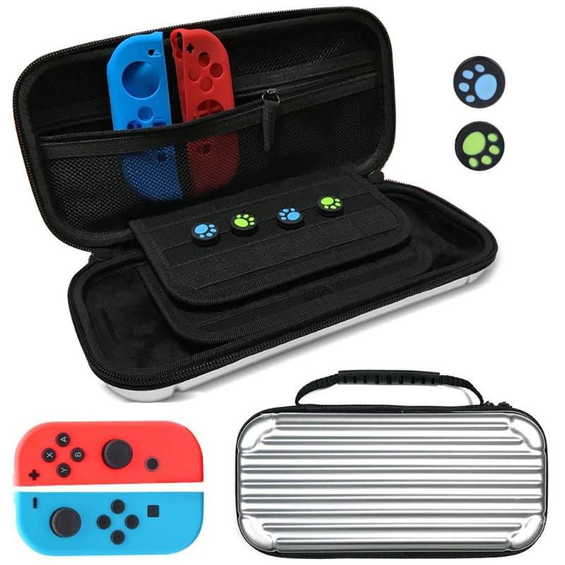 Portable Storage Travel Carry Protective Bag Pouch Case Cover Organizer for Nintend Switch Console Joy-Con Game Accessories