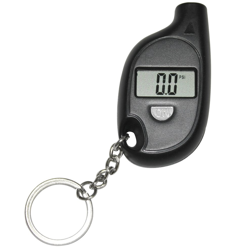 Keychain LCD Digital Tire Tyre Air Pressure Gauge For Car Auto Motorcycle Tyre Meter Tester Tool For Auto Car Motorcycle