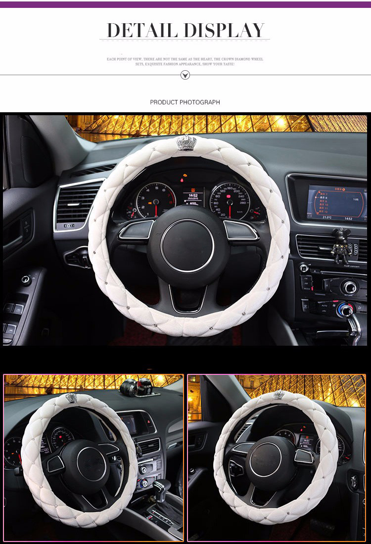 steering wheel cover 27