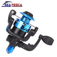High Speed Reel Fishing 5.1: 1 Pieghevole Rocker carretilha pesca pesca Ruota Che Gira bobine Accessori YL-10