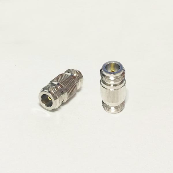 1pc N Female Jack to N Female Jack RF Coax Adapter convertor Straight Nickelplated NEW wholesale