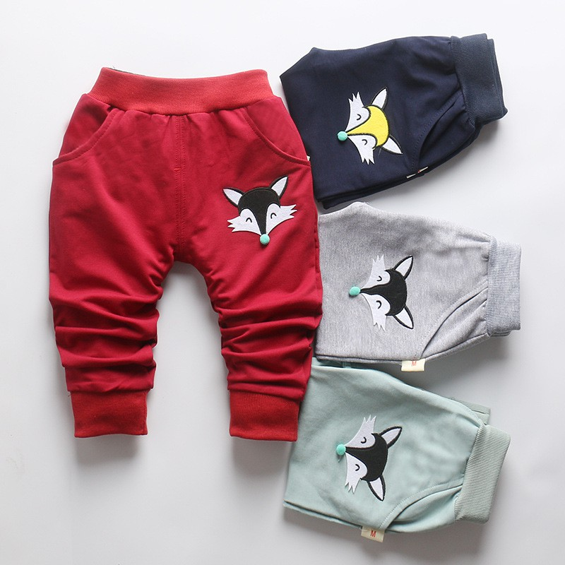 Harem-Pants Girls Baby Cotton Cartoon-Selling Children New 4 Old Spring Fox Color 0-2-Year