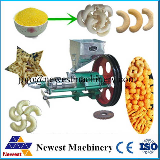 US $350 0 |Commercial corn extruder corn grit puff crispy food extrusion  machine ball puffing food machine round corn puffed extruder X1-in Food