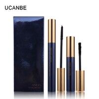 UCANBE 2PCS Set Black Eyes Mascara Growth In Fiber Eye Makeup Set Natural Curling Magic Extended