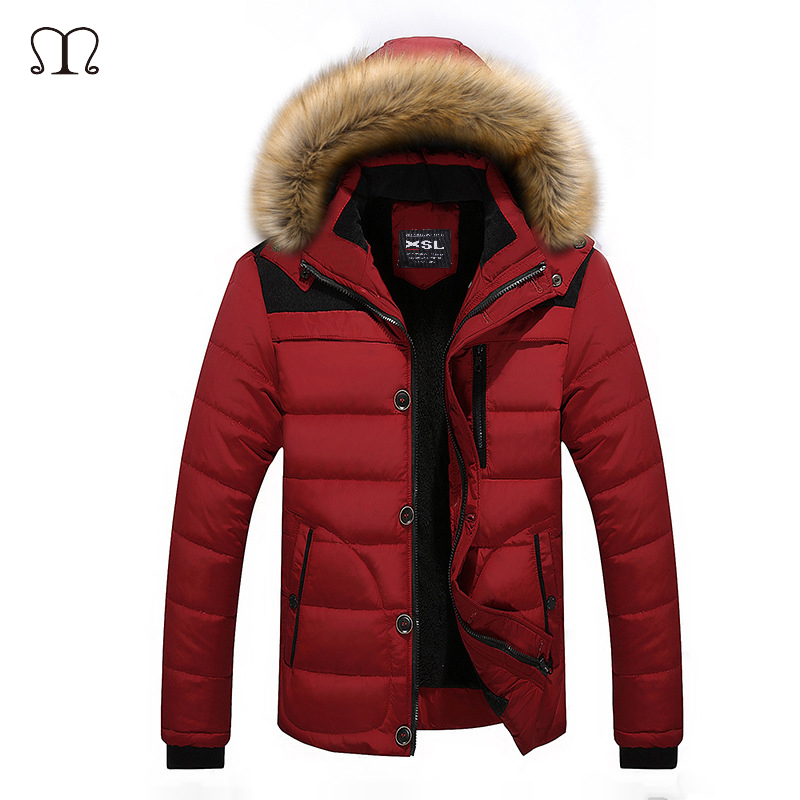 Winter Jacket Men Camouflage 2017 New Casual Thick Warm Bomber Jacket Mens Parka Coat Male Plus Size Fashion Hooded Parkas M-4XL