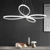 Simple Modern Butterfly LED Pendant Light Restaurant Led Bedroom Lamps And Lanterns Living RooM Pendant Lamps