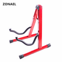 ZONAEL New 2 Colors Guitar Stand Universal Folding A Frame Use For Acoustic Electric Guitar Floor