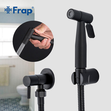 Frap bidety ze stali nierdzewnej czarny bidet toaleta kran bidet łazienkowy higieniczny prysznic muzułmański prysznic przenośna rączka bidetowa