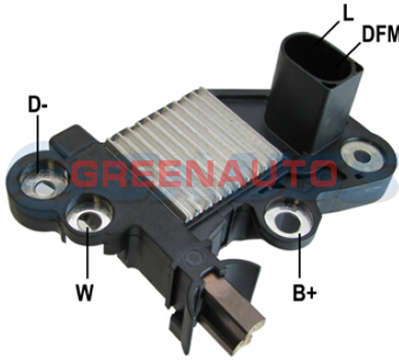 14 V Regulator napięcia alternatora F000BL9012  0272220701 dla VW Polo  Golf  jako sposób na alternatora OEM F000BL0300  F000BL0418  5U0903025E w Regulatory napięcia od Samochody i motocykle na title=