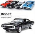 1:32 Сплава 1970 Dodge Зарядные Устройства R/T Форсаж 7 детские Игрушки Challenger Отступить Спортивный Diecast Автомобилей Коллекции на складе