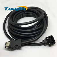 wires cables MR J3ENCBL5M A2 L cable Assemblies MR J3ENCBL5M A2 L encoder line Servo high power for Mitsubishi signal wire A.