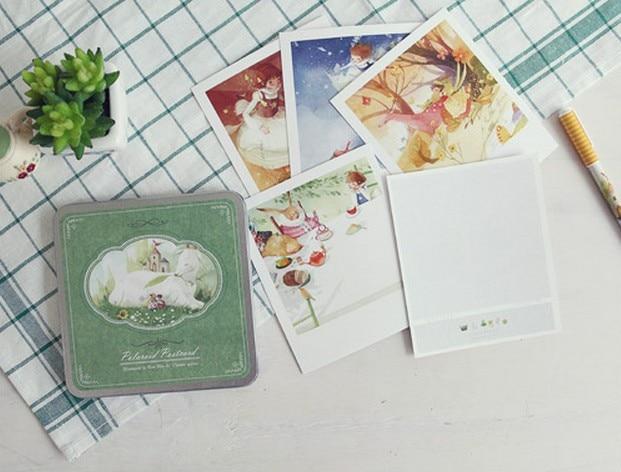 Cadeaux Promotionnels Daffaires Cartes Style Decontracte Mignon Kawaii Nouveaute DIY Polaroid II Carte