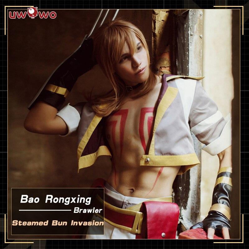 UWOWO Steamed Bun Invasion Cosplay The King's Avatar Costume Bao Rongxing BRAWIER Quan Zhi Gao Shou Costume Men