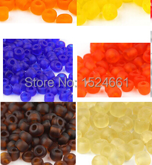 Jewelry Jewelry Findings & Components Beads DIY Transparent frosted glass beads 2.0mm irregular stone glass spacers 2mm charm