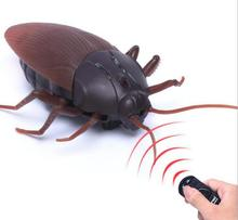 Funny Simulation Infrared RC Remote Control Scary Creepy Insect Cockroach font b Toys b font Halloween