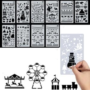 Image 3 - Handbook Handbook טפסות סט חלול תחרה כלי כתיבה רב תכליתי Straightruled Tablet תלמידי בית הספר יסודי לצייר Diy