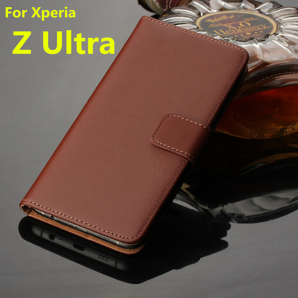 uk availability a436b 372cd US $8.1 5% OFF|capa fundas wallet leather case For Sony Xperia Z Ultra  C6802 C6803 Flip Cover Phone Bags With Card holder & Money Solt-in Wallet  Cases ...
