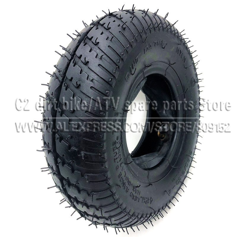 <font><b>2.80/2.50</b></font>-4Tire with Inner Tube <font><b>2.80/2.50</b></font>-<font><b>4</b></font> fits Gas / Electric Scooter ATV Elderly Mobility Scooter Motorcycles bikecle image