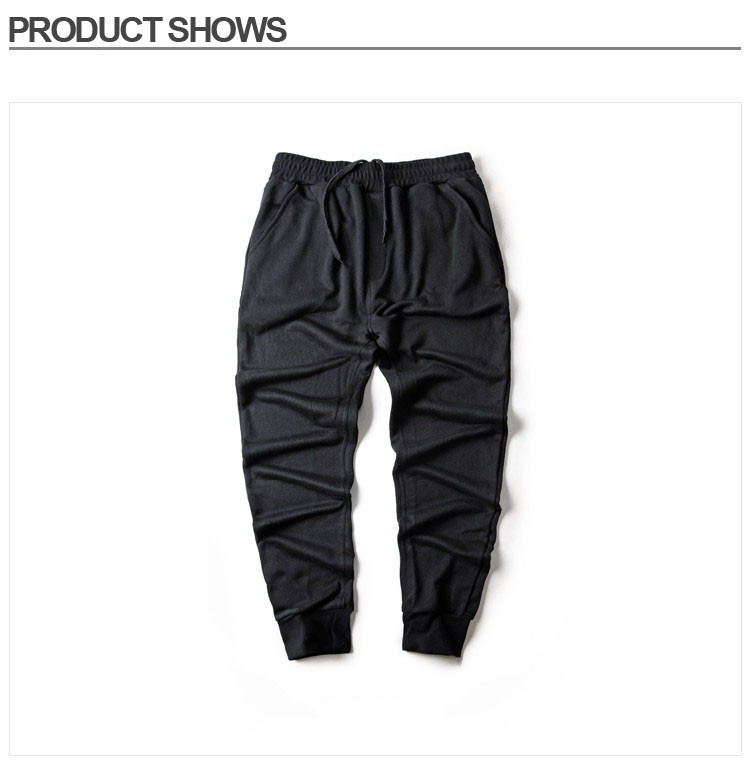 Men Joggers Pants Hip Hop Fashion Sport Skinny Sweatpants Casual Military Jogging Trousers Black beam foot trousers M-4XL (8)