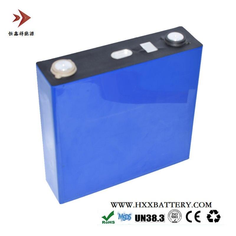 3.2 V 120Ah Lifepo4 Célula de Lítio de Fosfato de Ferro Shell de Alumínio com 6mm Pole para 24 V 36 V 48 V 60 V Montagem Da Bateria 3C