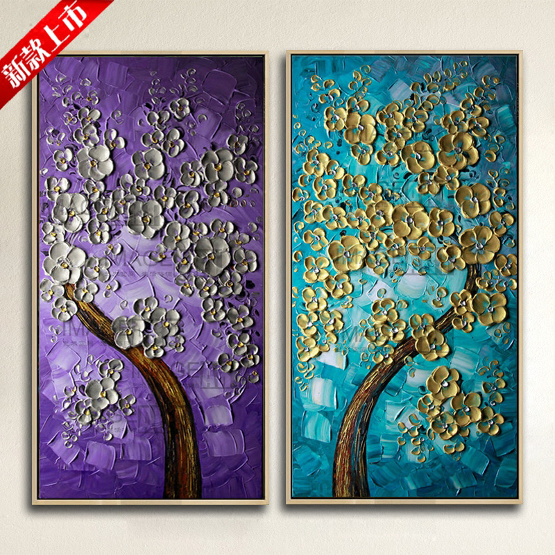 Hand Painted Wall Art Abstract Paintingss