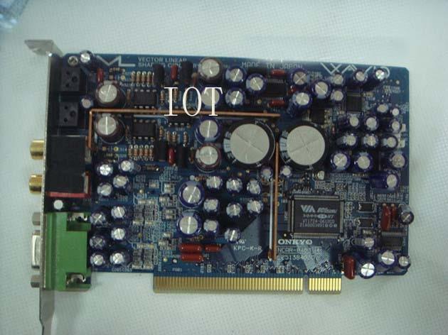 (USED) Original for Onkyo ONKYO WAVIO SE-150 PCI HiFi Professional sound card