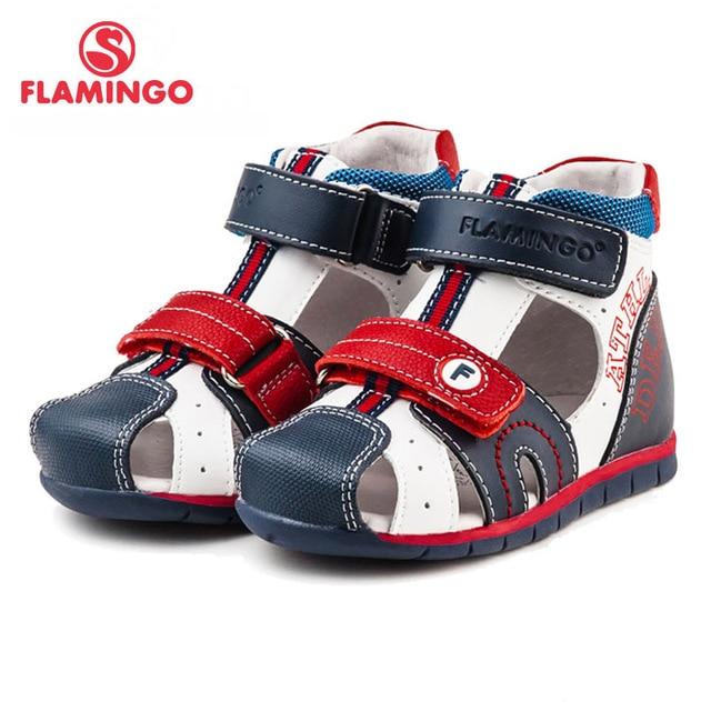 ФЛАМИНГО известный бренд 2016 Новых Прибытия Весенние и Летние Дети Мода Высокого Качества сандалии для мальчиков 61-XS151/61-XS152
