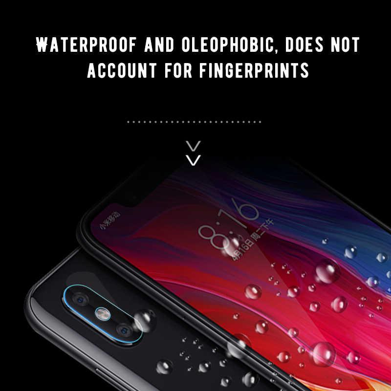 HOPCHAM Back Camera Lens Tempered Glass for Xiaomi Mi 8 9 SE A2 Lite 6X For Redmi Note 7 5 6 Pro Mix Pocophone F1 Protector Film