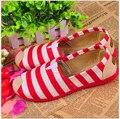 Мода Плоские туфли 2016 весной и осенью круглый женщин широкие полосы обувь многоцветный опционально удобную обувь бесплатная доставка