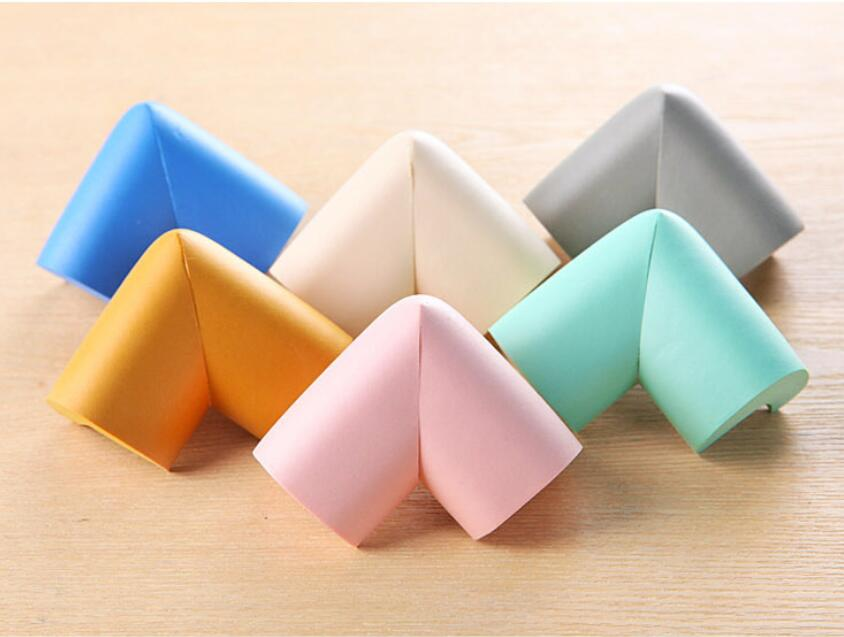 4pcs New Children Protection Table Corner Cover 6 Colors Optional Pads On Corners Thick Design Sticker Corner Protector