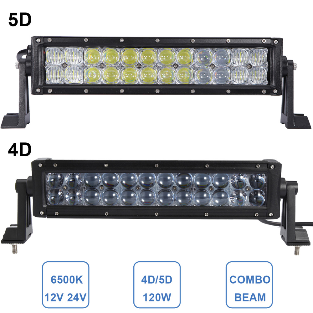 120W 4D 5D Offroad LED Light Bar 14'' Combo 12V 24V CAR AUTO UTE SUV ATV WAGON CAMPER TRAILER TRUCK 4X4 4WD PICKUP LIGHTING LAMP k1 rizoma k1 bws