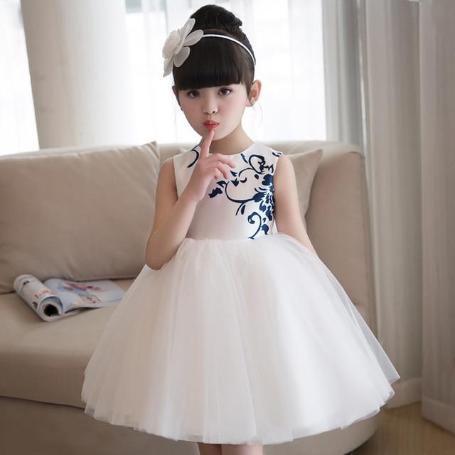 d79d93e762651 Vintage filles robes formelles prinsessenjurken meisjes robe fille enfant  mariage de soirée enfants princesse robes bébé