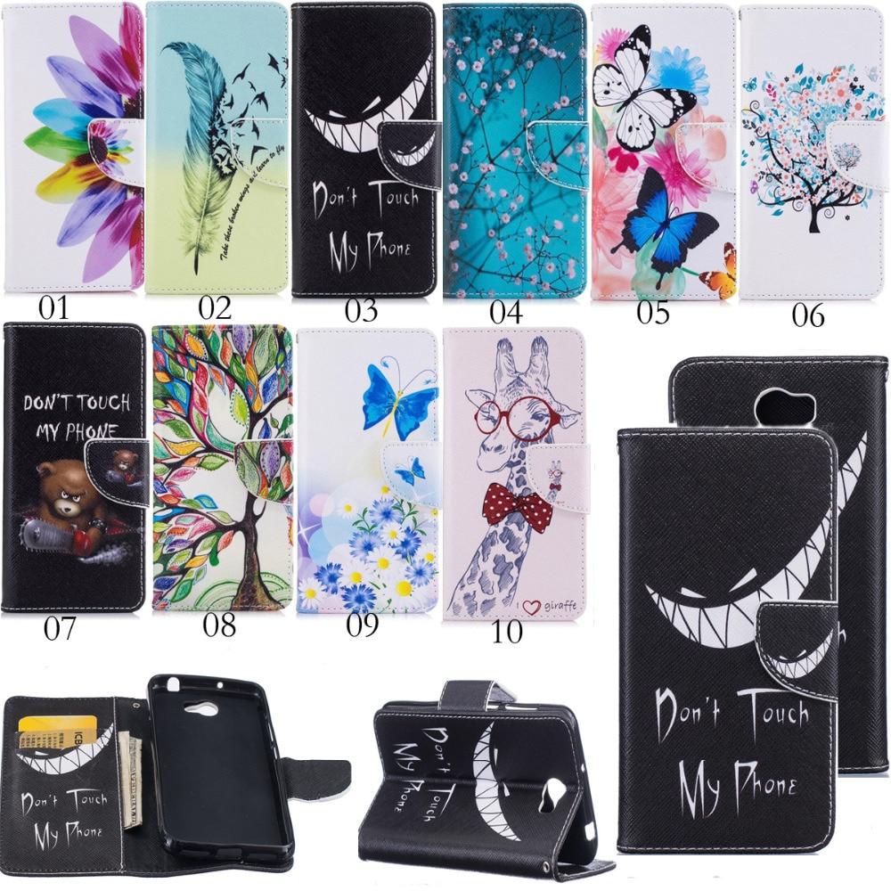 Ranuras para tarjetas con billetera PU magnética estampada con tapa - Accesorios y repuestos para celulares - foto 1