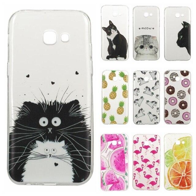 cc69039e7b6 TPU Soft Case 4.7For Fundas Samsung Galaxy A3 2017 case For Samsung A3 2017  A320 A320F SM-A320F Coque Silicone Phone Cases Cover