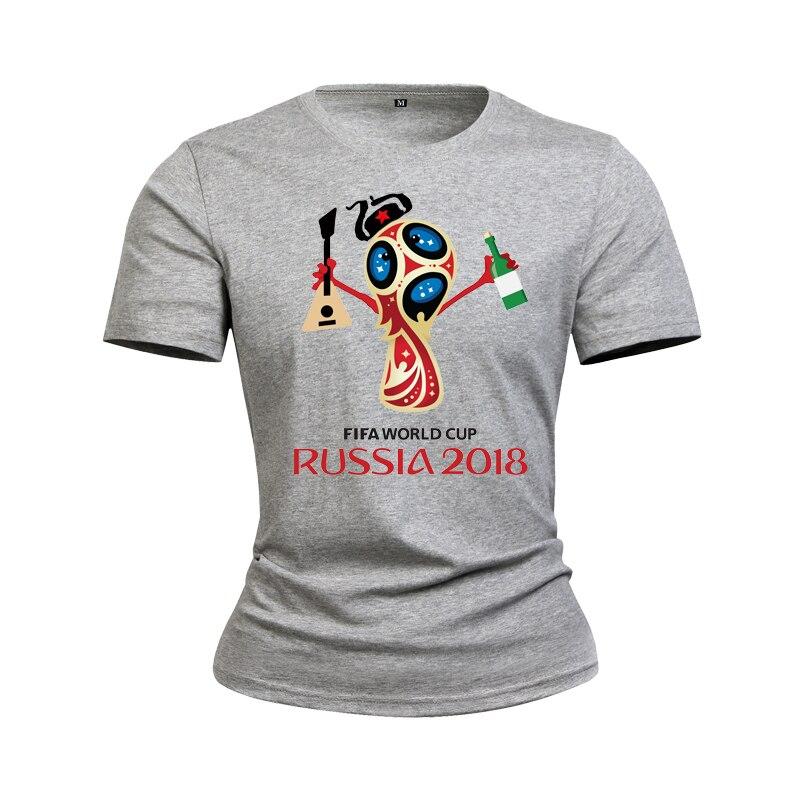 2018   Men Women 100% Cotton Fashion T Shirt   Russia Printed T Shirts Summer Casual O-neck Tops tee shirts