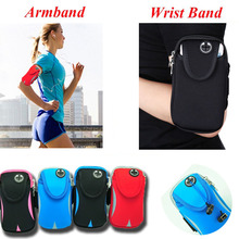 5.7 inch Breathable Sport Running Armband For iPhone 7 6S Plus Multifunction Phone Bag Case For Samsung Galaxy Note 7 S6 S7